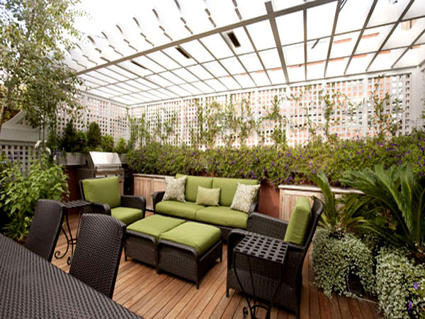 Rooftop Garden Rooftopsolutions Provider Of Shade
